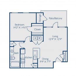 Bell at Teravista A1B Floor Plan