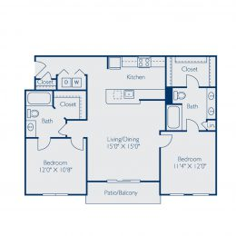 Bell at Teravista B2A Floor Plan